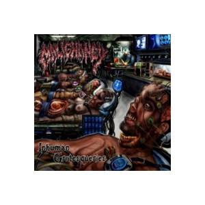 Malignancy: Inhuman Grotesqueries - Cover