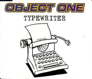 Cover - Object One: Typewriter