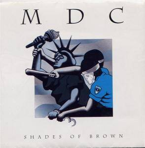 MDC: Shades Of Brown - Cover