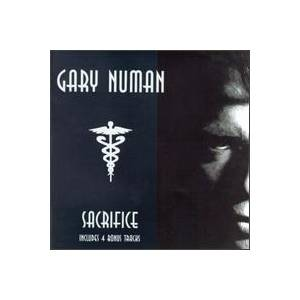 Gary Numan: Sacrifice - Cover