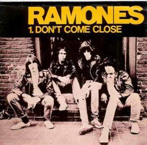 Ramones: Don't Come Close - Cover