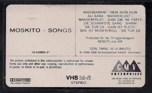 Moskito-Songs (VHS) - Bild 2