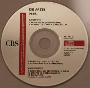 Die Ärzte: Debil (CD) - Bild 2