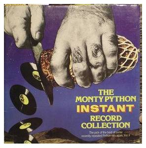 Monty Python: Monty Python Instant Record Collection, The - Cover