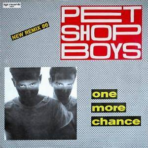 Pet Shop Boys: One More Chance [New Remix 86] - Cover
