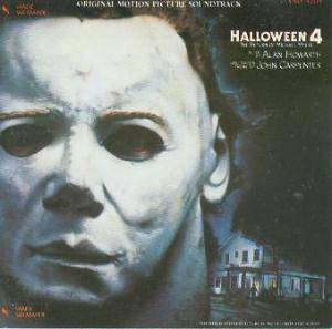 Alan Howarth: Halloween 4 - The Return Of Michael Myers - Cover