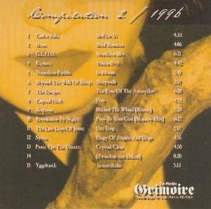 Cover - Capital Hell: Gothic Grimoire - Compilation 2/1996, The
