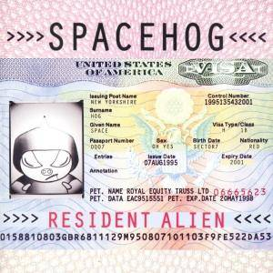 Spacehog: Resident Alien - Cover