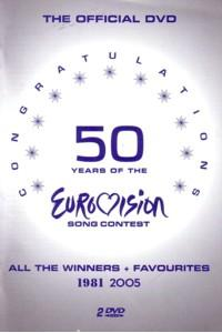 Congratulations - 50 Years Of The Eurovision Song Contest 1981 2005 - Cover