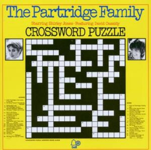 Partridge Family, The: Crossword Puzzle - Cover