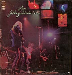 Johnny Winter: Johnny Winter And Live - Cover