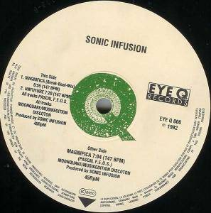 Sonic Infusion: Magnifica - Cover