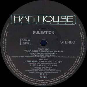 Cover - Pulsation: Pulsation