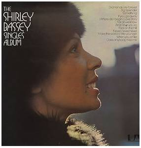 Shirley Bassey: Shirley Bassey Singles Album, The - Cover