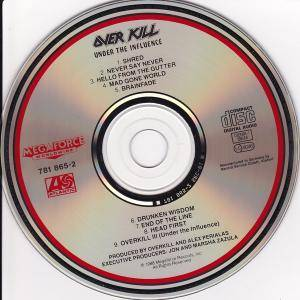 Overkill: Under The Influence (CD) - Bild 4