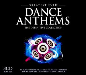 Greatest Ever! Dance Anthems - The Definitive Collection - Cover
