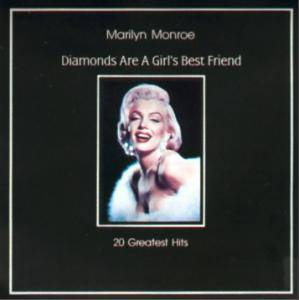 Marilyn Monroe: Diamonds Are A Girl's Best Friend - 20 Greatest Hits - Cover