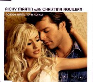 Ricky Martin With Christina Aguilera: Nobody Wants To Be Lonely - Cover