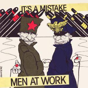 Men At Work: It's A Mistake - Cover