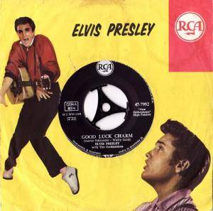Elvis Presley: Good Luck Charm - Cover