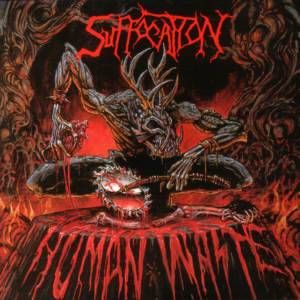 Suffocation: Human Waste - Cover