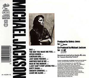 Michael Jackson: Bad (CD) - Bild 2
