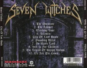 Seven Witches: City Of Lost Souls (CD) - Bild 2