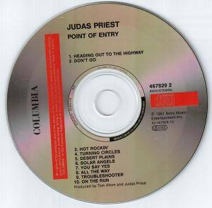 Judas Priest: Point Of Entry (CD) - Bild 4