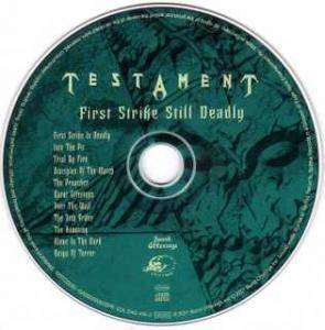 Testament: First Strike Still Deadly (CD) - Bild 3