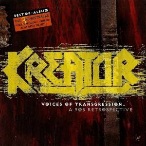 Kreator: Voices Of Transgression - A 90s Retrospective - Cover