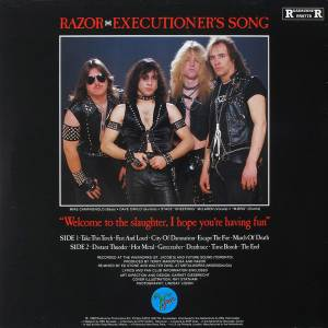Razor: Executioner's Song (LP) - Bild 2