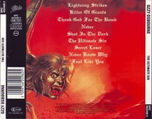 Ozzy Osbourne: The Ultimate Sin (CD) - Bild 3