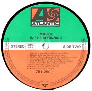 Malice: In The Beginning... (LP) - Bild 6