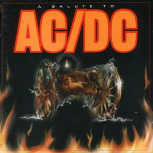 Salute To AC/DC, A - Cover