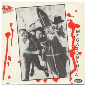 Cover - Blood, The: Megalomania