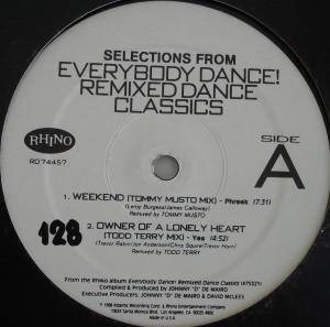Cover - Gwen McGrae: Selections From - Everybody Dance! Remixed Dance Classics