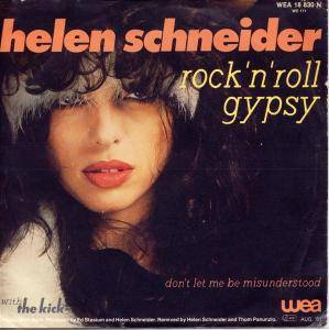 Helen Schneider With The Kick: Rock'n'Roll Gypsy - Cover