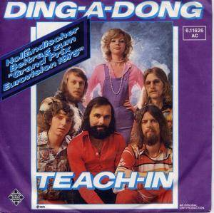 Teach-In: Ding-A-Dong - Cover