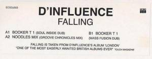 Cover - D'Influence: Falling