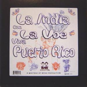 Cover - Masters At Work: India Con La Voe (Viva Puerto Rico), La