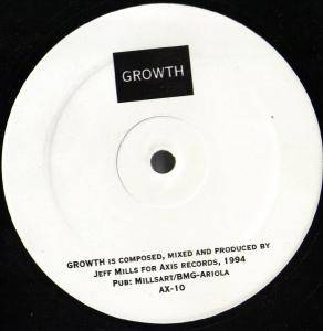 Cover - Jeff Mills: Growth