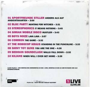 1live Plan B 02 Promo Cd 2007 Cardsleeve
