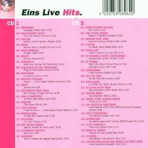 Cover - DJ Thomilla: Eins Live Hits.