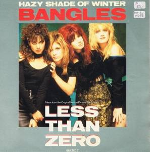 The Bangles: Hazy Shade Of Winter - Cover