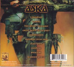 Aska: Absolute Power (CD) - Bild 2