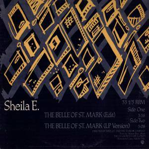 Sheila E.: Belle Of St. Mark, The - Cover