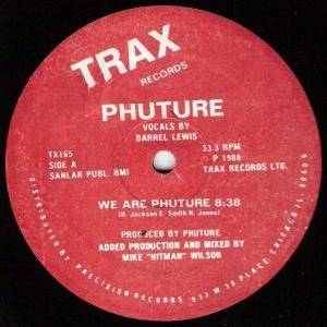 Cover - Phuture: We Are Phuture
