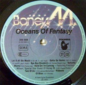 Boney M.: Oceans Of Fantasy (LP) - Bild 5