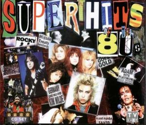 Superhits Of The 80s - Cover