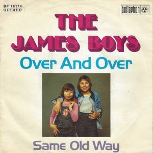 Cover - James Boys, The: Over And Over